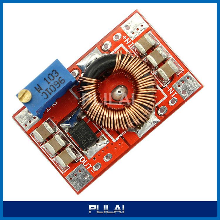 DC-DC Adjustable Buck Converter 4.75-28V 1.2-25V 3A Step Voltage Power Supply Module - PLILAI store