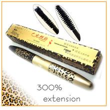 Maquiagem  New 3D Fiber Leopard Lash Extension Mascara Long Curling Eyelash Cosmetic Waterproof Eye Makeup Beauty