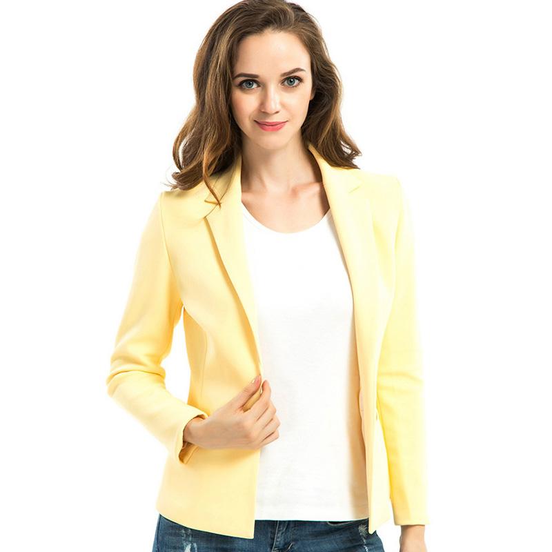 Women Business Blazers 2015 Casual Brand Suit Blazer ...