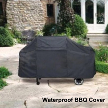 Universal Outdoor Waterproof BBQ Cover Garden Gas Charcoal Electric Barbeque Grill Protective Cover ( 145*61*117cm )(China (Mainland))