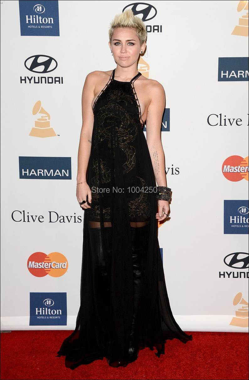Miley Cyrus Red Carpet Dresses