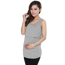 Summer Maternity Clothes Nursing Tops Breastfeeding Vest Top Nursing T-Shirt(China (Mainland))