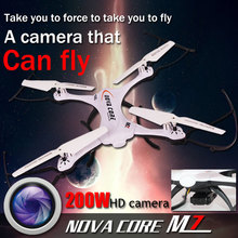 Luxury nova core M7 Fly Camera Remote Control Drone Helicopter Aircraft on board HD Quadcopter de controle remoto grand airplane