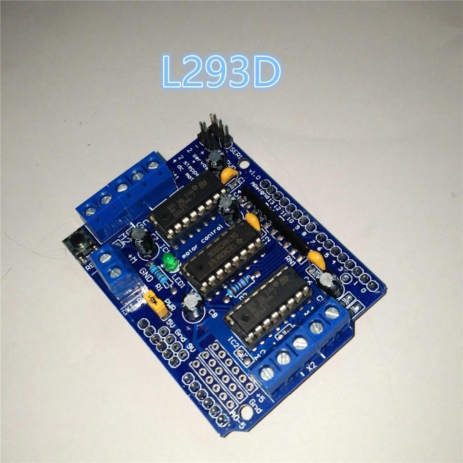 Buy adafruit compatible motor control shield l293d driver for L293d motor driver price