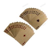 Игральные карты OEM dollarsuperble 24K Gold Foil Poker