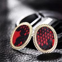Vintage Multicolor Punk Snake Skin Stud Earrings Women Party Dress Stylish Golden Square Za Earring Maxi Jewelry Wholesale(China)