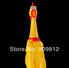 Free Shipping Screaming chicken pet sound toy Crazy turkey dog toys Vent pressure funny toys S/M/L 5pcs/lot(China (Mainland))
