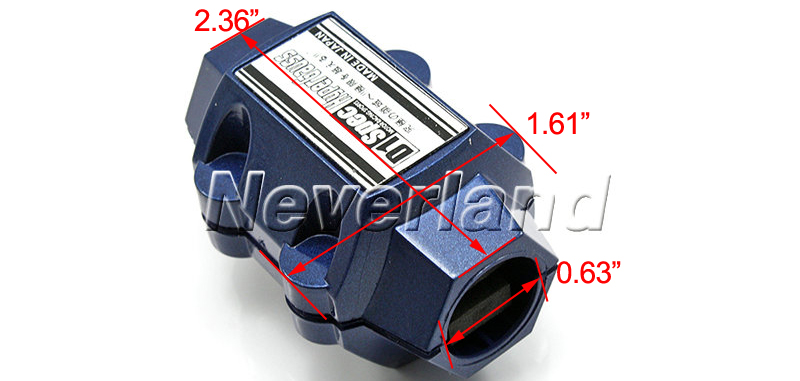 2015 New Universal Magnetic Gas Oil Fuel Saver Performance Trucks Cars Blue Free Shipping A10