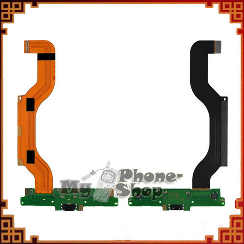 10pcs/lot Smart Phone Flex Cable for Nokia Lumia 1520 Charger Flex Alibaba free shipping by DHL EMS(China (Mainland))