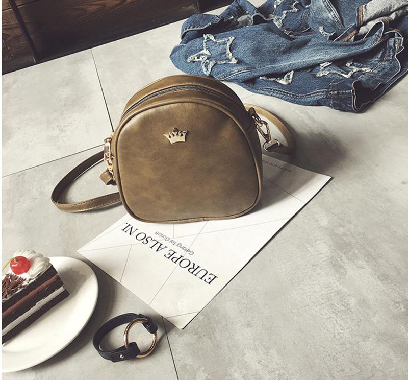 Mara's Dream Small Women Bag Imperial Crown Designer Women Messenger Bags Lady Shoulder Crossbody Bag Female PU Leather Handbags