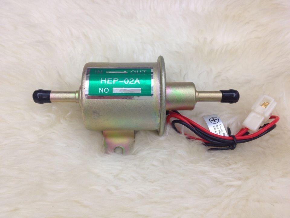 NEW Inline 12v Universal low pressure Electric Fuel Pump Diesel & Petrol & Gas fuel pump For ATV Motorcycle Carburetor(China (Mainland))