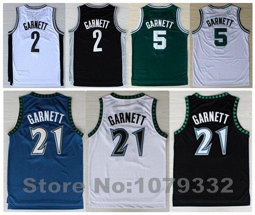 Minnesota Basketball Jersey Garnett Basketball Jersey