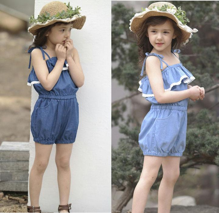 Kids Wearing Overalls Kid Clothes Children Wear