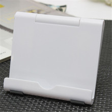 Brand New Design Mini Desktop Stand Cradle Mount Holder For Smart Phone 4-10inch Tablet White(China (Mainland))