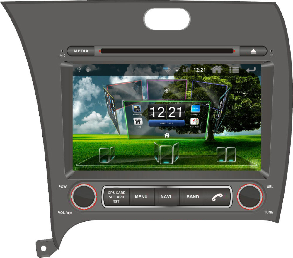 Android CAR DVD PLAYER WITH GPS FOR KIA CERATO 2013- Navigation Radio Bluetooth PIP TV Free Maps - Shenzhen TomTop E-commerce Technology Co., Ltd. store