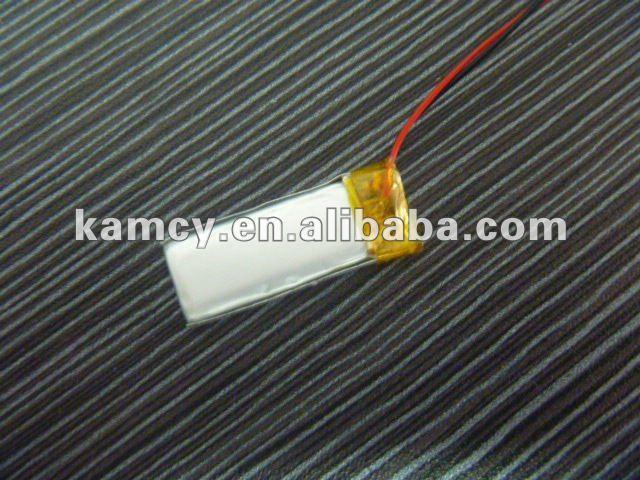 bluetooth battery small lithum ion 330mAh Li-ion battery cell 3.7v 701248(China (Mainland))