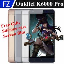 "Original OUKITEL K6000 PRO 5.5"" OGS FHD Android 6.0 MTK6753 Octa Core 4G LTE smartphone 13MP 3gb ram 32gb rom dual sim 6000mah(China (Mainland))"