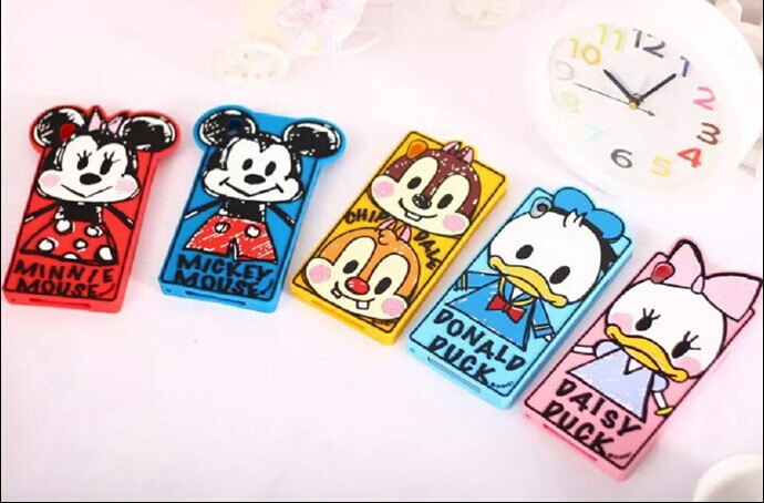 Sony Xperia Z2 New 3D Cartoon Cute Graffiti Minnie Mickey Mouse Duck Chip Rubber Silicone Skin Cases Covers - Rose Angel store