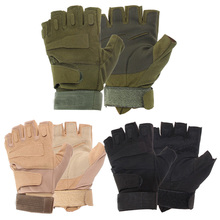Outdoor Military Airsoft Hunting Paintball Cycling Army Tactical Gloves  #gib(China (Mainland))