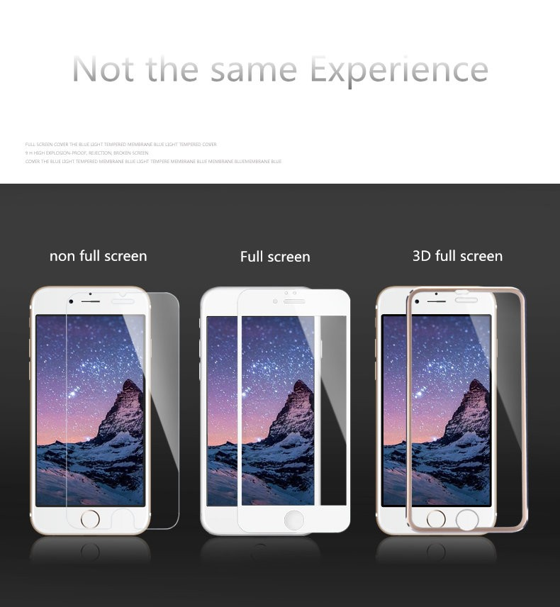 Spedu Brand Ultrathin Tempered glass screen protector For iphone 5S se 6 6S plus Full screen coverage protective film