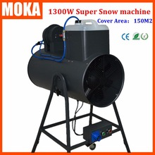 1300W snow machine snowstorm machine Artificial snow maker Snow Blower Machine Christmas Projector for disco dance club party(China (Mainland))
