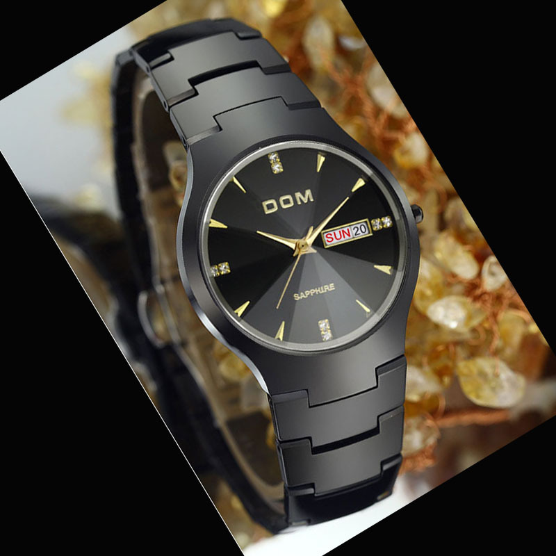DOM authentic luxury watches sapphire crystal, tungsten steel strap 200 m water depth global quality assurance<br><br>Aliexpress