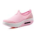 New Fashion Women Casual Shoes Summer Air Mesh Walking Flats Women s Shoes Mujer Platform