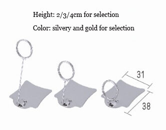 50 pcs small size Wholesale store POP metal poster sign price tag card clip label holder stand(China (Mainland))