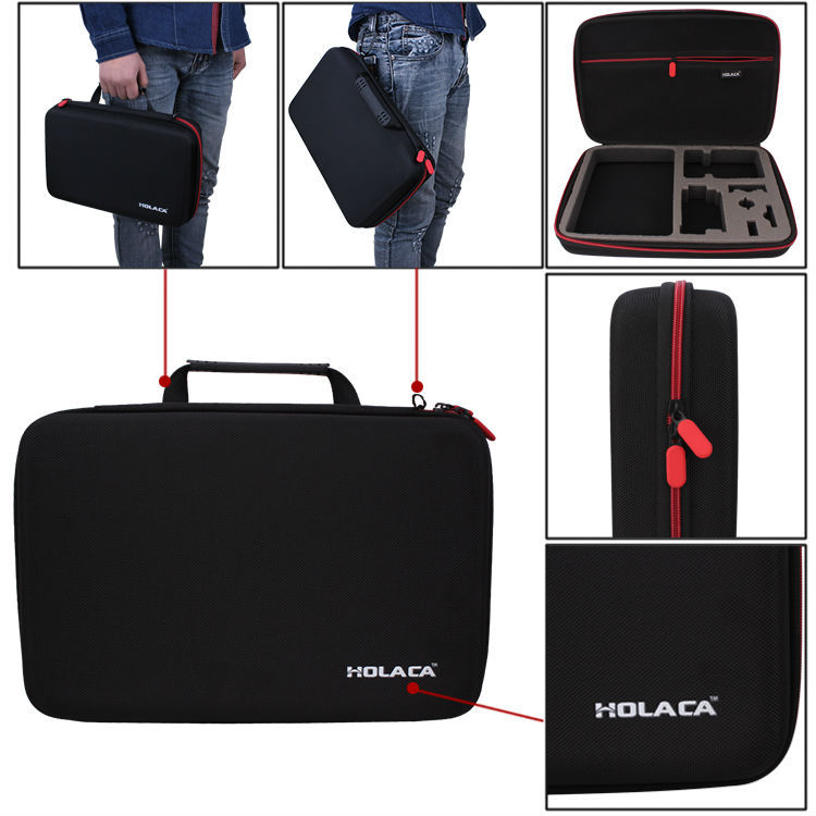 Camera Video Bag Holaca XL Portable Protective Shockproof Storage Carry Case Bag for Sony Action Cam HDR-AS15/20/AS30V/AS100V<br><br>Aliexpress