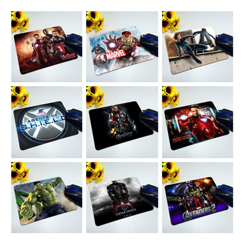 260*200*2mm Avenger Union 2 movie mouse pads Black Widow Captain America, Iron Man, Hulk mouse pad mice mat(China (Mainland))