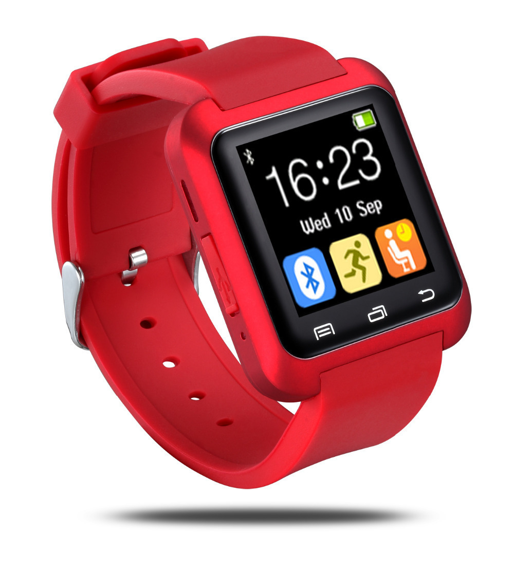 NEW Bluetooth Smart Watch MTK WristWatch U80 watch iPhone 4/4S/5/5S Samsung S4/Note 2/Note 3 HTC Android Phone - Huanyu Electronics Gift Co.,Ltd store