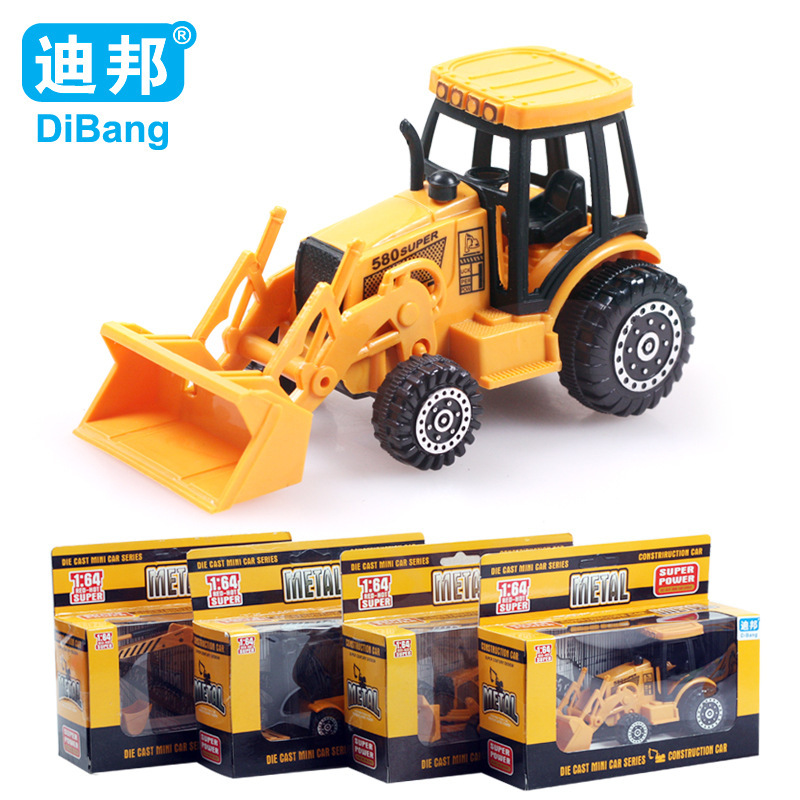 Best!! alloy wheel excavator/machineshop car/Cars Truck Toy Kids Toys Baby For Children Small Pull Back Truck Toys for Boys Gift(China (Mainland))