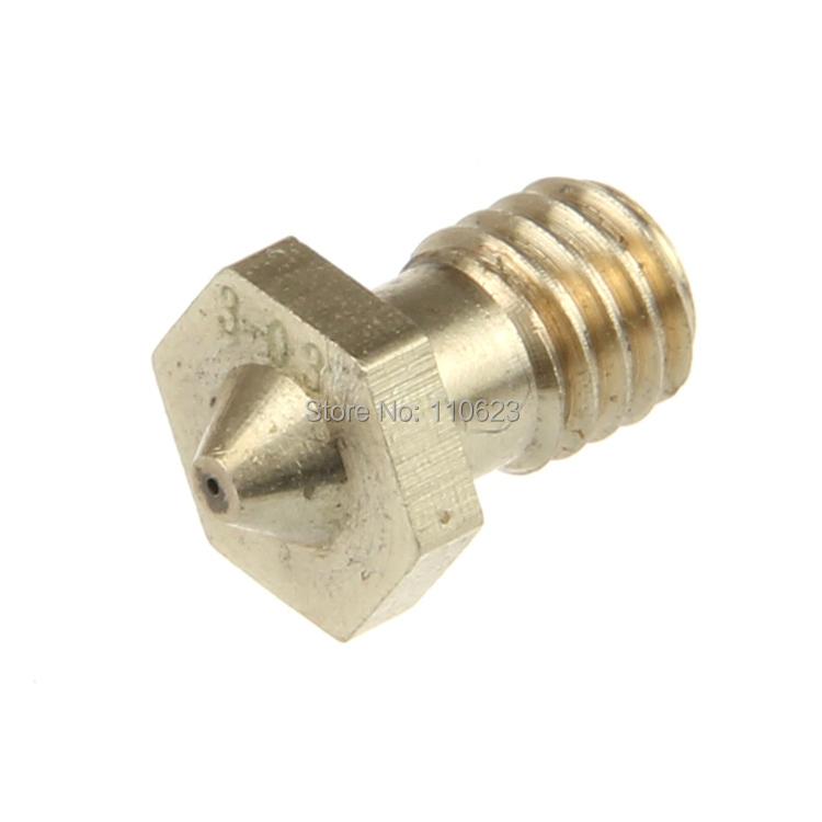 Geeetech 10pcs e3d j head hotend nozzle 0 3mm for 3mm filament reprap 3d printer extruder
