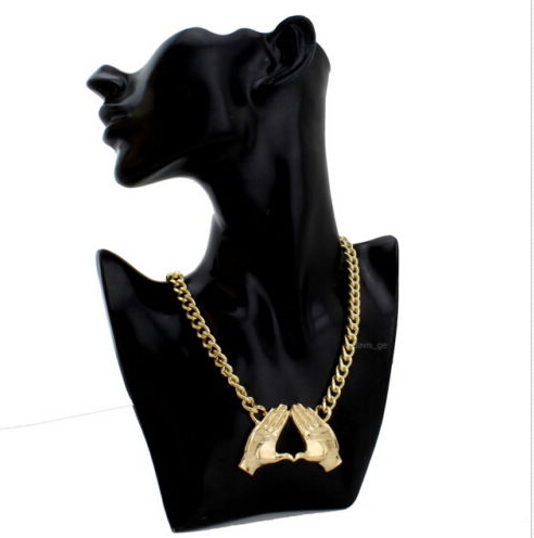 Wholesale  Delta Sigma Theta  DST Necklace Hip Hop Hand Pendant Necklace Choker Jewelry palm necklace 1pcs free shipping <br><br>Aliexpress