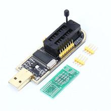 CH341A 24 25 Series Flash BIOS USB Programmer E7B5 + 8/16-pin Adapter Board - e_goto Processors Store store