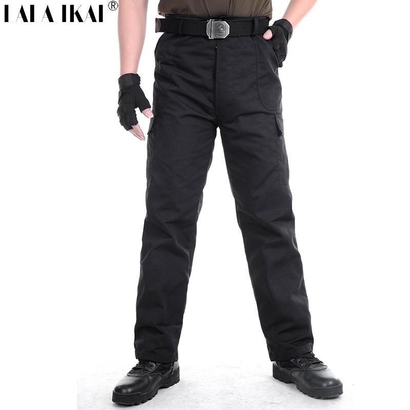 Tactical Black Pants Men Breathable Canvas Multi Pocket Pants Hiking Trekking Camping Outdoor Sport Military Pants HMH0047-5