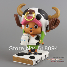 Free Shipping Anime One Piece Film Z Tony Tony Chopper Milk Cow Style PVC Action Figure Collection Model Toy 6