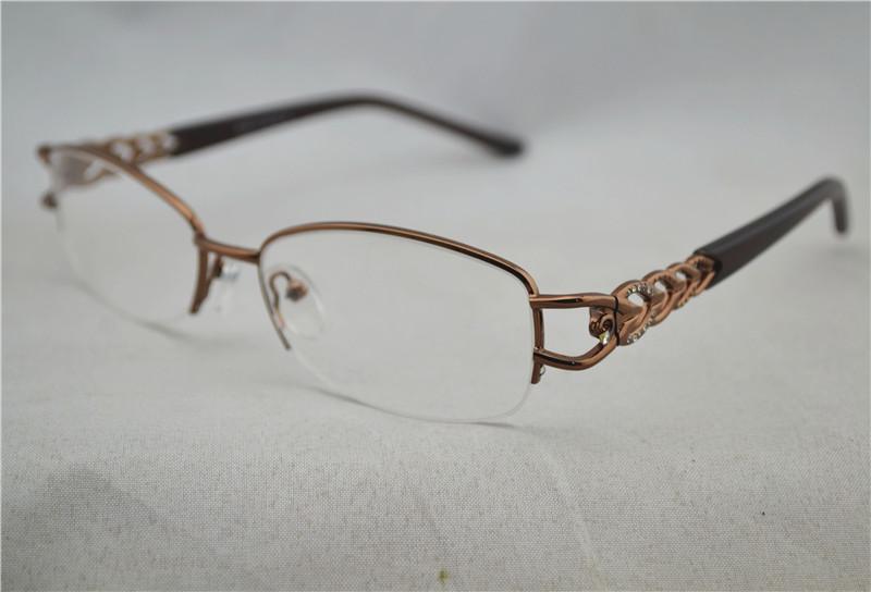Fixing Half Frame Glasses : Aliexpress.com : Buy Women Optical Half Glasses Frame ...