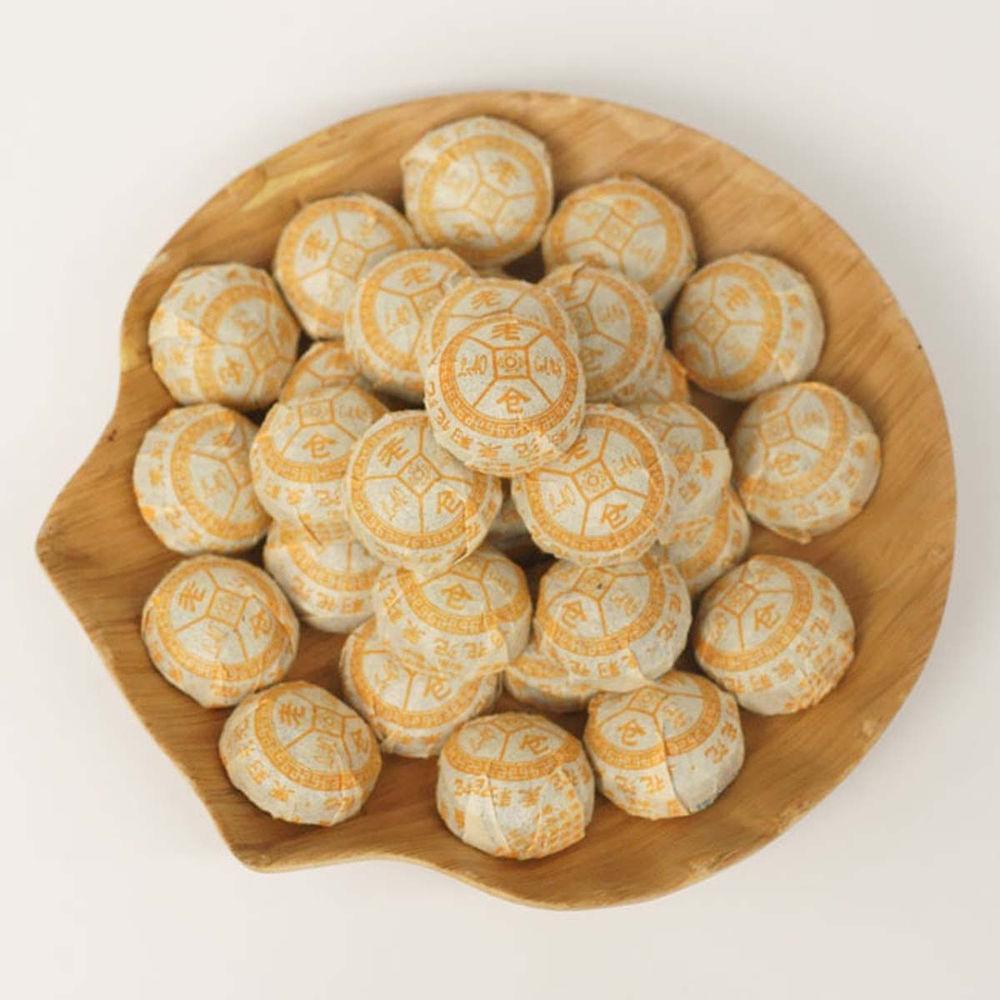 100g Jasmine Flower Puer Tea Cake Raw Pu-erh Tea Uncooked Puer Tea Puer puerh Puer pu erh Tea<br><br>Aliexpress