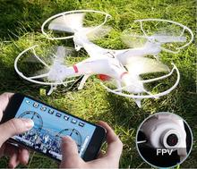 HuanQi 898B 2.4G 4CH 6-Axis RC Drone RC Quadcopter With FPV HD Camera smartphone gravity induction control