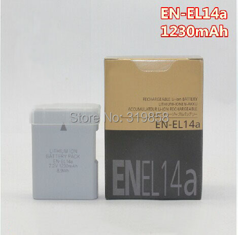 Replacement EN-EL14a EL14a ENEL14A camera Battery batteries D5300 D5200 D5100 D3300 D3200 D3100 P7100 P7700 P7800 P700 - Online Store 319858 store