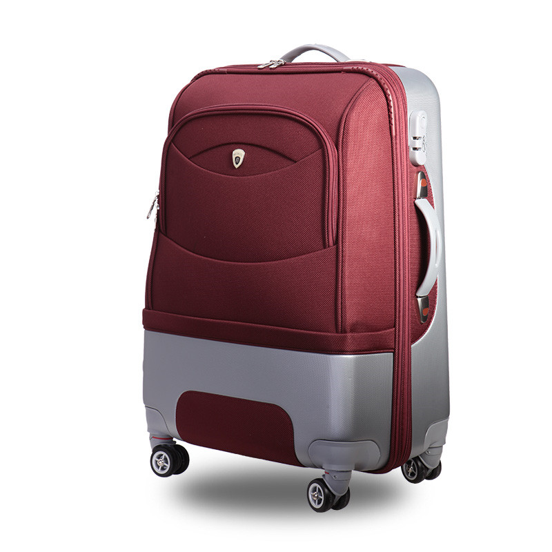 Oxford cloth suitcase suitcase women bag, Hit color Business trolley case,new style,men traveling travel luggage,lock,mute,21 25
