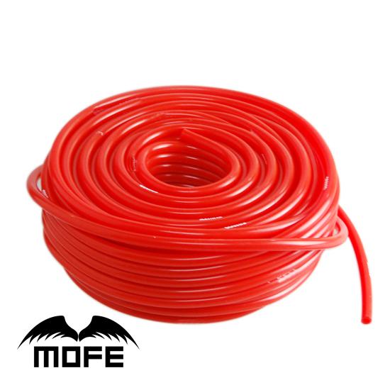 HOT SALE Original Logo 100% Silicone Red 10M Inner Dia: 3MM Vacuum Hose(China (Mainland))