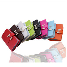 Fashion 20 Card slot High Quality PU Faux Leather Business ID Credit Card Holder Bags Card case Wallets 8 colors(China (Mainland))