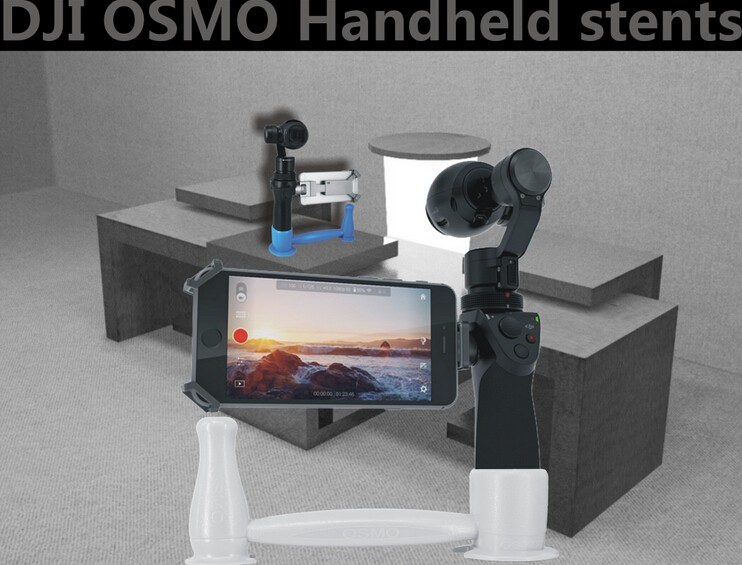 Handheld Stent Bracket Holder Fixed Mount for DJI Osmo Handheld Camera camera drone accessories Free Shipping