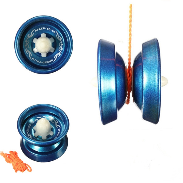 New Arrival Hot Sale Aluminum Alloy Professional Design YoYo Ball Bearing String Toy Spin For Beginner And Advanced(China (Mainland))