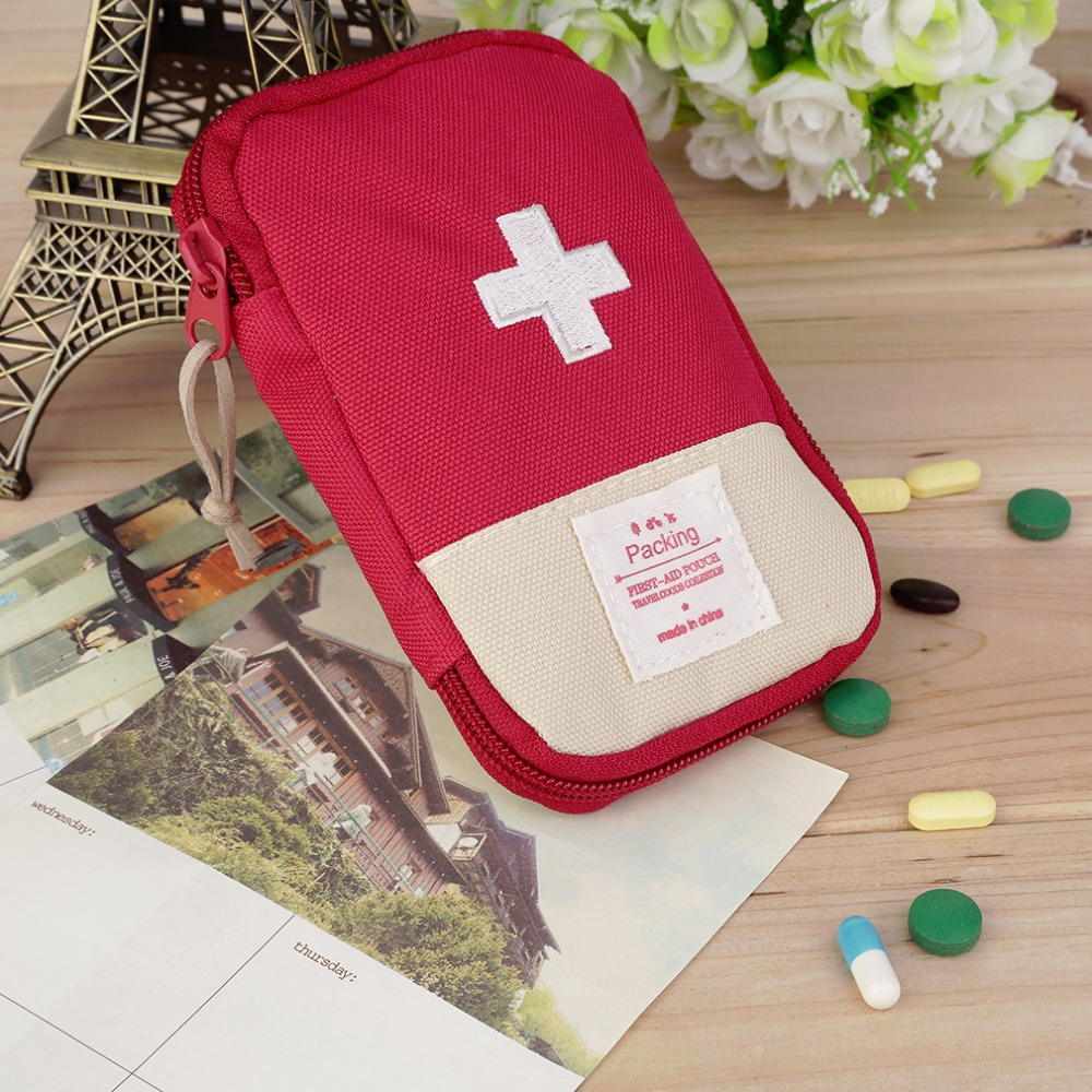 New Outdoor Camping Home Survival Portable First Aid Kit bag Case(China (Mainland))