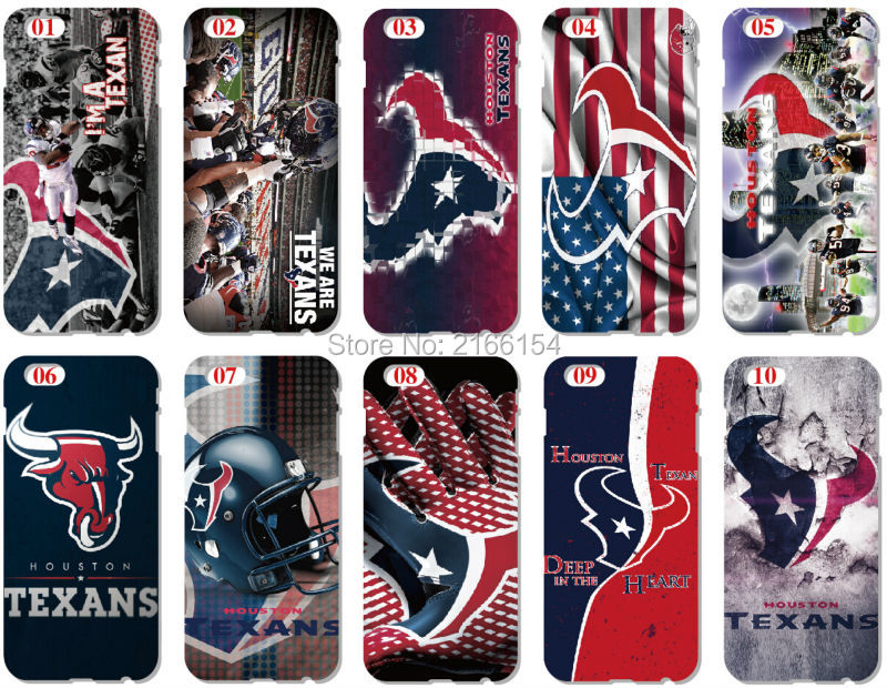 painting Houston Texans Plastic Hard Cell Phone Cover For iphone 4 4S 5 5S SE 5C 6 6S Plus For iPod Touch 4 5 6 Mobile Case(China (Mainland))