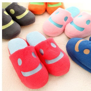 The New Autumn And Winter Cute Smiley Lovers Of Men And Women Home House Indoor Flooring And Soft Bottom Cotton Slippers <br><br>Aliexpress