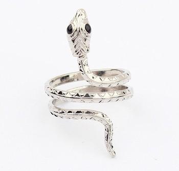 Min 10 usd 2013 New Fahion vintage Silver Snake Rings jewelry for Women SPX2038 E-JOY LIFE